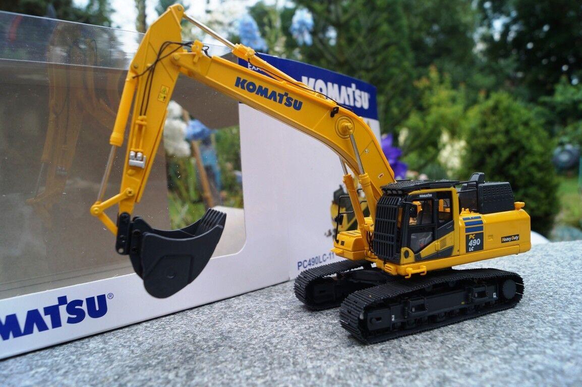 Universal Hobbies Komatsu PC 490LC-11 Hydraulic Excavator 1 50 NEW OVP