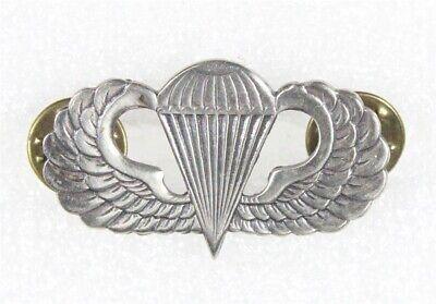 Army Vietnam Paratrooper Parachute Death From Above metal jump wings badge U.S