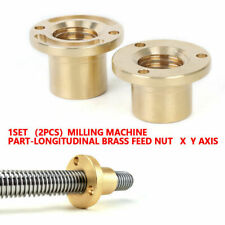 Cnc Milling Machine Part Longitudinal Brass Feed Nut Copper Xy Axis Sleeve
