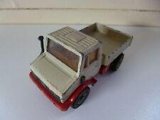 Unimog U1500 - # 1620 - SIKU - White Red - West Germany