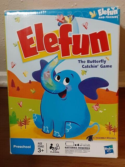 Elefun Game Elephant Butterfly Catching Preschool Kids Fun ...