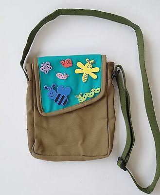 Shoulder Bag Canvas Bug Stickers Handbag Travel Explorer camping girls boys kids