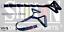 Tricep-6-D-DOUBLE-Cable-Attachment-Handle-Bar-Resistance-Gym-Shihan-powersports thumbnail 3