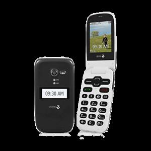 Details about UNLOCKED Black Doro Phone Easy 626 (Consumer Cellular) Flip  Phone
