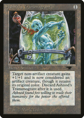 Ashnod/'s Transmogrant Antiquities NM-M Artifact Uncommon MAGIC MTG CARD ABUGames
