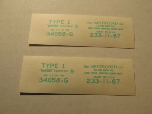 Details about  /Mpd21 VINTAGE MIDGETOY DIECAST strip Transfer decal Customize MG STP oil car