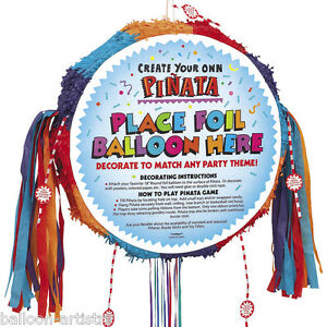 18-5-034-Blank-Foil-Balloon-Create-Your-Own-Drum-Pull-String-Pinata-Party-Game