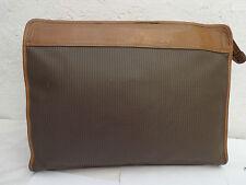 AUTH sac porte document  CHARLES JOURDAN  A4  TBEG vintage bag