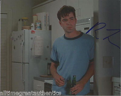 Autographs-original Ron Livingston Hand Signed Office Space Band Of Brothers 8x10 Photo W/coa To Have Both The Quality Of Tenacity And Hardness Movies