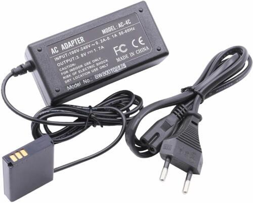 Netzladegerät passend für Kamera RICOH ersetzt AC-4C AC-4 C incl Adapter