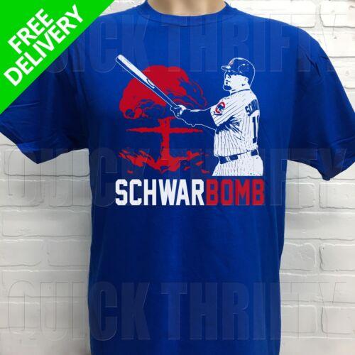 CHICAGO CUBS KYLE SCHWARBER ***SCHWARBOMB*** T-SHIRT