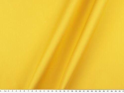 elastisch 145cm Hosenstoff gelb Baumwolle Twill