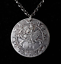 Medieval-Heraldry-Knight-Horse-King-PENDANT-NECKLACE-big-coin-talisman thumbnail 3