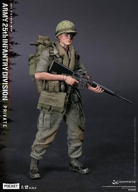 Dam Toys 1 12th scale Pocket Elite Series Vietnam War Army 25th Infantry Platoon