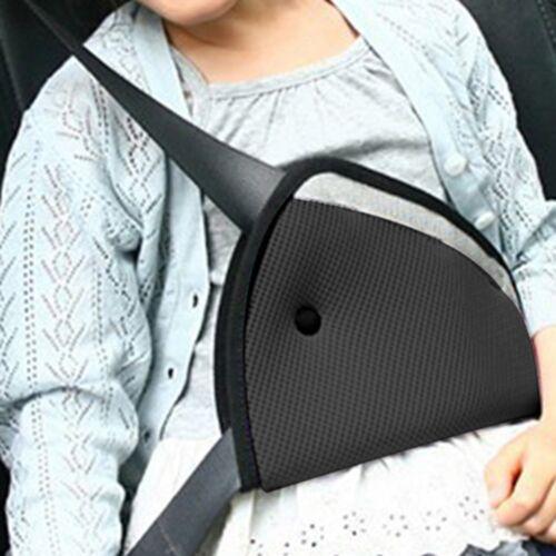 Child Safety Cover Shoulder Harness Strap Adjuster Kids Seat Belt Clip1NX