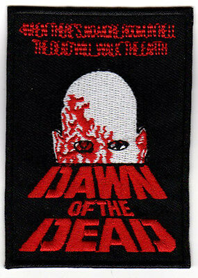 DAWN OF THE DEAD HORROR MOVIE POSTER ART EMBROIDERED PATCH vintage cult sci-fi