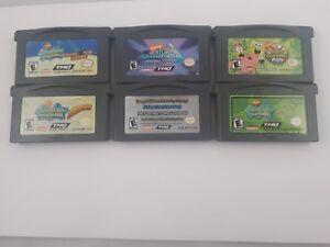 Spongebob-Squarepants-Games-Nintendo-Game-Boy-Advance-GBA-Pick-One