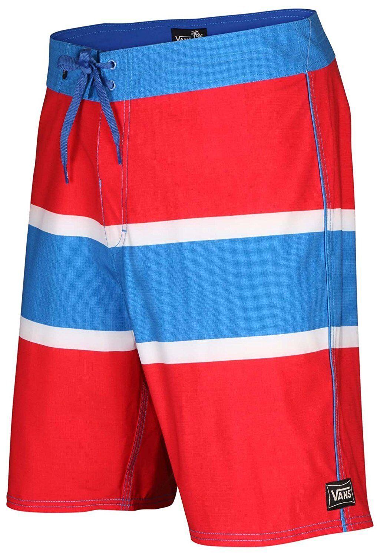 adf5e1ef04 Vans Board Shorts GHOST TREES Shorts SWIM SUIT RED blueE WHITE 30 34 36 38  ncowpg2461-Swimwear