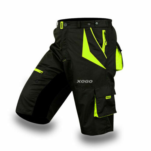 NEW MTB Cycling Short Off Road Bicycle With CoolMax Padded Liner Shorts