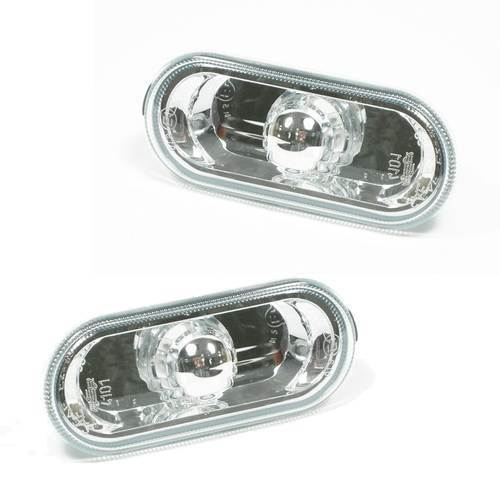 SEAT AROSA 1997-2004 CRYSTAL CLEAR SIDE REPEATERS 1 PAIR