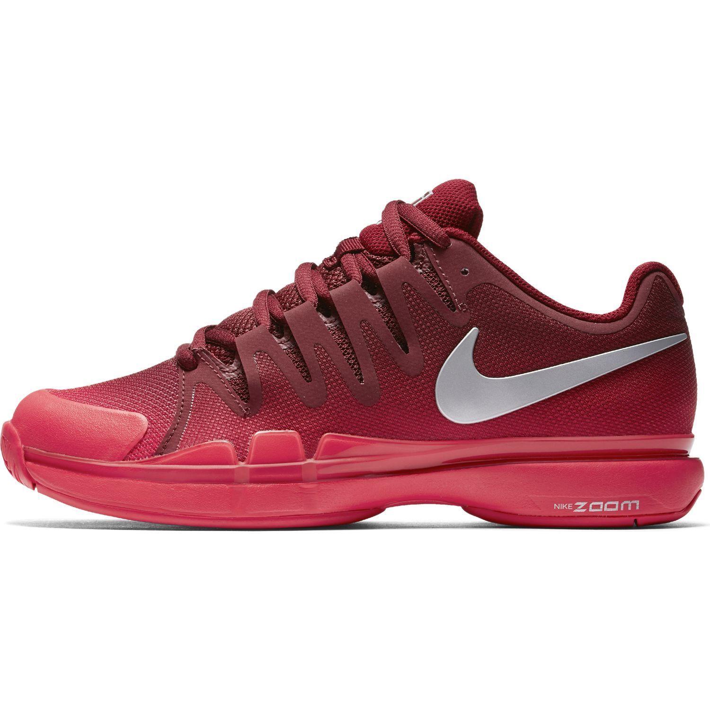 NIB Nike Federer Zoom Vapor 9.5 Tour RED Tennis Shoes 631458-602 NEW Nadal 10.5