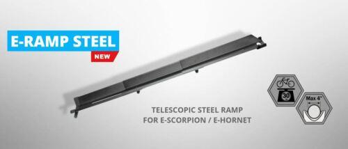 Suits e-Hornet /& e-Scorpion Buzz Rack e-Ramp Steel