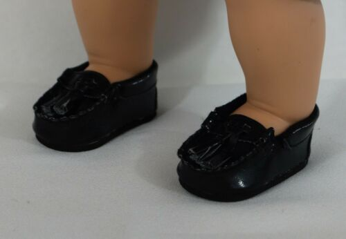 """LOGAN AND BITTY TWINS BABY BOY 15 /"""" DRESSY BLACK LOAFER SHOES ACCESSORIES"""