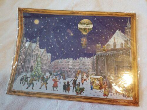 Richard Sellmer Verlag Traditional German Paper Advent Calendar Frankfurt