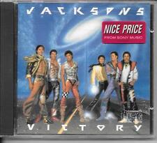 CD ALBUM 8 TITRES--JACKSON 5 / FIVE--VICTORY--1984