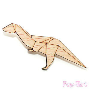 Image Is Loading Japanese Origami Dinosaur T Rex Cute Laser Cut