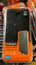 Spigen Neo Hybrid case for Galaxy Note 4 Metal Slate New