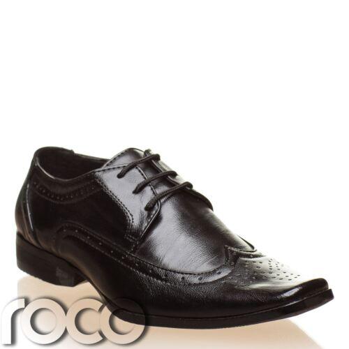 Boys Black Brogues Boys Formal Shoes Boys Wedding Shoes Boys Black Shoes