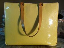 SALE!!! US SELLER!!! LOUIS VUITTON VERNIS COLUMBUS TOTE BAG PURSE LV Good