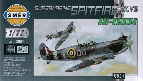 Smer 1/72 Supermarine Spitfire Mk.VB with etched parts # 0887