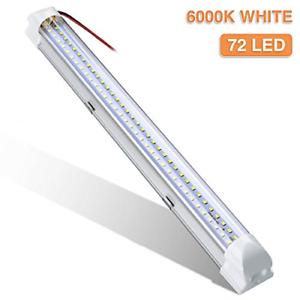 Interior Lights,AUDEW DC12V 4.5W 72 LEDs Lights Bar Strip Lamp Universal Up for