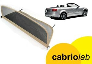 Windschott f/ür Audi A5 Cabrio Typ 8F7 Beige