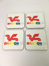 Dragon 32 Early Home Computer enthusiast COASTER SET