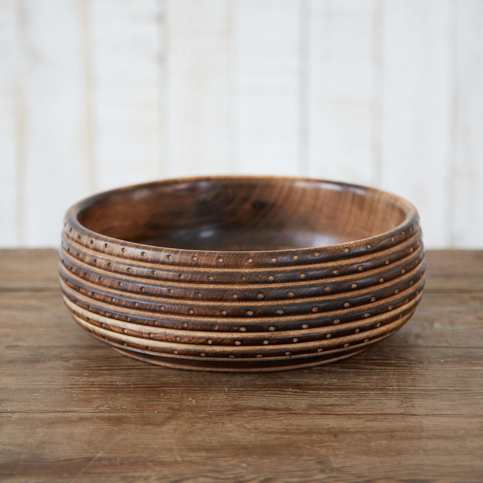 Fair Trade Handgemacht Natürlich Geschnitzt Mango Holz Spüle - Nachhaltigkeit
