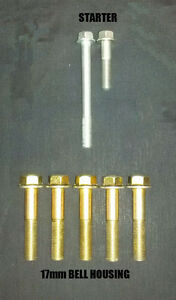 OEM M//T 5-SPEED TRANSMISSION MOUNTING BOLT SET FOR HONDA ACURA B16 B18 B20 SWAP