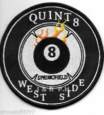 """Springfield  Quint - 8  """"West Side"""", MO  (4"""" round size) fire patch"""
