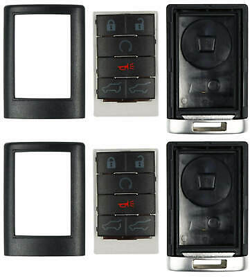 Case for Cadillac Remote Keyless Entry Key Fob FCC ID OUC6000066 5 Button