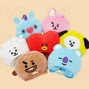 BTS-BT21-Official-Authentic-Goods-Big-Head-Hat-Tracking-Number