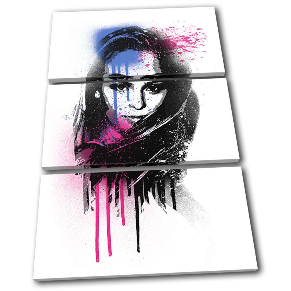 Zara Larsson Grunge Urban arte Musical TREBLE LONA pa rojo  arte Urban Foto impresion 0d734f