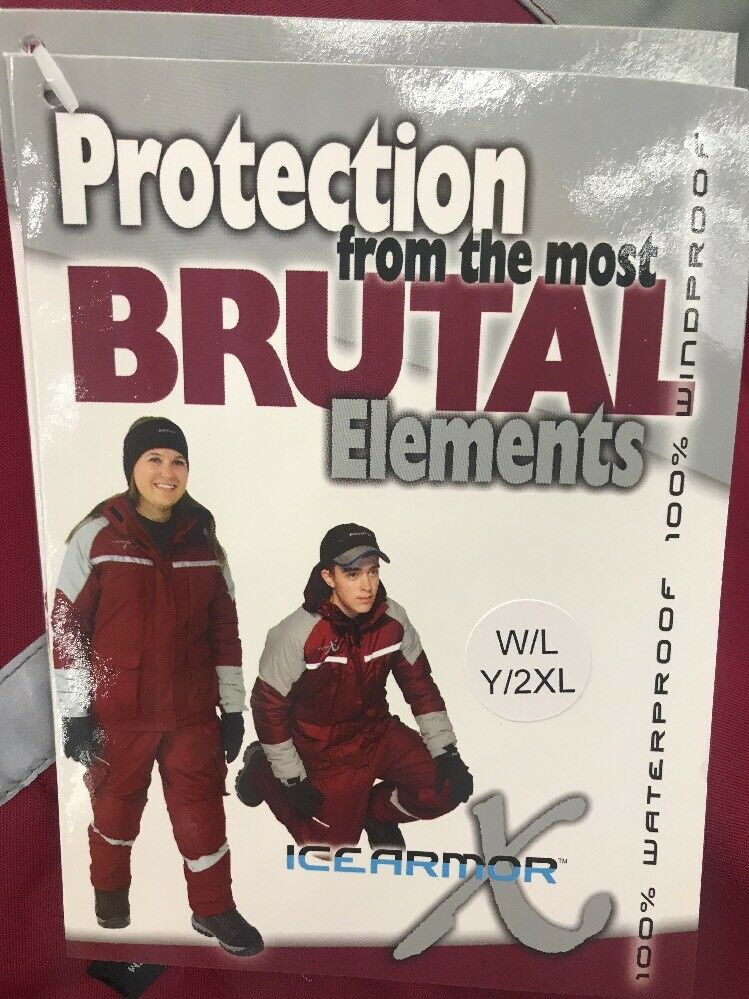 CLAM Ice Armor - Extreme Suit  -Womens Large-Youth XXL -Ice Fishing -Snowmobiling  low prices