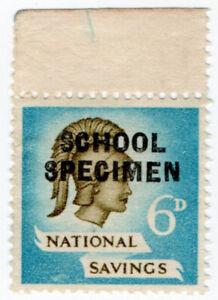 I-B-Cinderella-Collection-National-Savings-Britannia-6d-School-Specimen