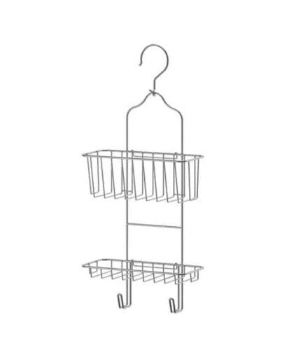 NEW BATHROOM  STORAGE IDEAL FOR SHOWER IKEA IMMELN 2 TIER SHOWER HANGER