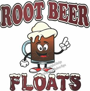 "Root Beer Floats Decal 14"" Ice Cream Concession Restaurant ..."