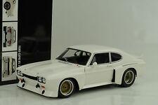 1974 Ford Capri RS 3100 Plain Body White weiss 1:18 Minichamps