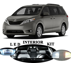 LED-for-Toyota-Sienna-Interior-License-plate-Tag-Vanity-Reverse-20-pcs