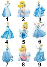Cinderella Large Sticky White Paper Stickers Labels New